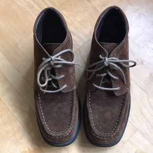 LLbean brown chukka 🥾 boots like new mens size 6
